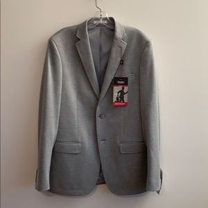 Van Heusen Men's Gray Slim Fit Flex Jacket! NWT!